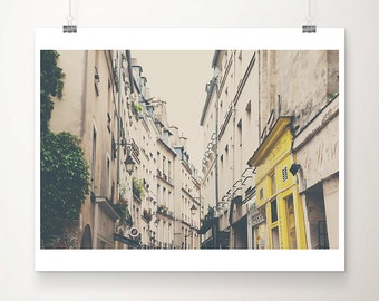 Paris photograph Paris decor le Marais photograph Paris print french decor le Marais print travel photography architecture photo