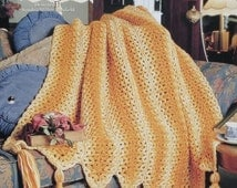 20%OFF The Needlecraft Shop SOLID GOLD By Sandra Miller Maxfield - Crochet Afghan Collector's Series Pattern