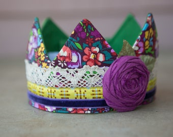 Fabric Crown - Princess Keavy
