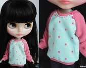 Pink Stars sweater for Blythe