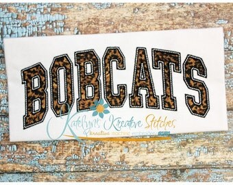 Bobcats Arched