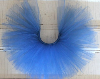 READY TO SHIP/Deep Blue Tutu/12-18 Month Tutu/Baby Tutu/Birthday Tutu/Cake Smash Tutu/Costume/Flower Girl Tutu/Wedding Tutu/Princess Tutu