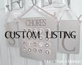 Hdoten25's Custom Chore Chart System
