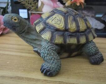 Highly Detailed Turtle Figurine, Vintage