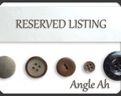 RESERVED LISTING - Custom order for Morgan - 5 pairs of USMC Cufflinks