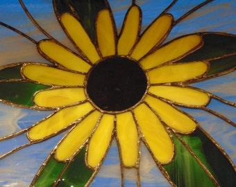 Yellow Sunflower Panel