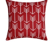 Red Arrow Tribal Pillow Cover Cushion