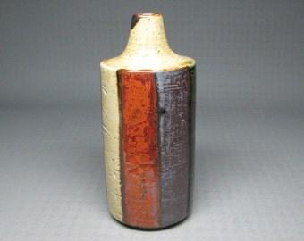 Otagiri bud vase , mid century modern , stoneware