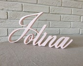 girl name wooden letters custom wood sign  personalized wall decor for nursery children room  baby shower nursery sign letters for nursery