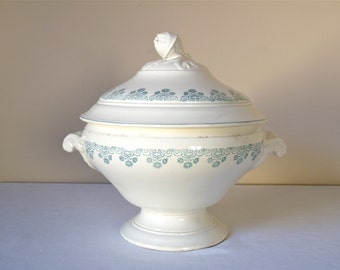 1875 French Antique Tureen French Tureen  Sarreguemines
