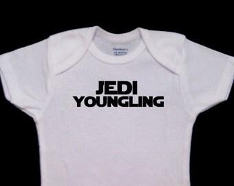 Jedi Youngling Baby Funny Onesie Bodysuit