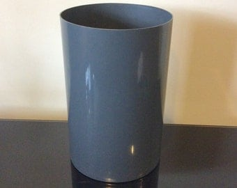 Kartell Gray Cestino Wastebasket by Gino Colombini