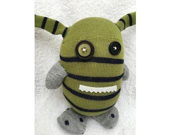 Striped Green Monster