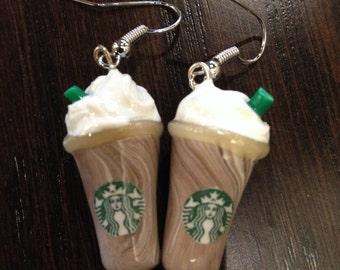 Starbucks Frappuccino Earrings