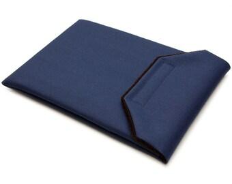 iPad Pro 9.7 Sleeve - Navy Blue Canvas