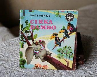 "Vintage Children's book ""Circus Dambo"" (Cirka Dambo) in Latvian. Latvia, Riga 1975 LIESMA Bitīte USSR Soviet Era"