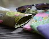 Handmade Soft Sided Eyeglass Case/ Large