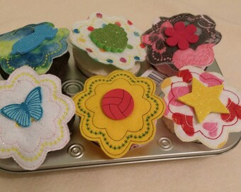 Felt Cupcake Set