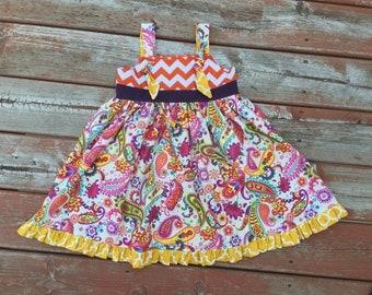 yellow easter dress 3t pumpkin