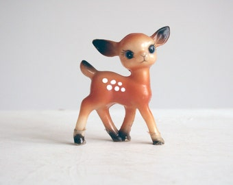 cute bambi deer figurine