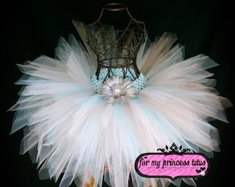 Snowflake Tutu - newborn tutu, infant tutu, baby tutu, toddler tutu, dress up tutu, dance tutu, pageant tutu, flower girl tutu, fairy tutu