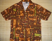 Mens Vintage 60's JC Penney Hawaiian Aloha Shirt - M - The Hana Shirt Co