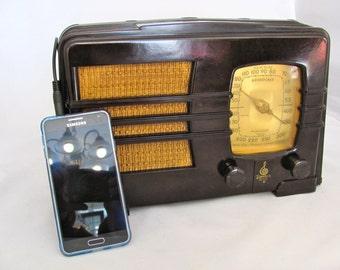 Emerson Radio 193  Restored and iPod-Ready