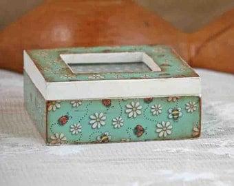 keepsake box, jewelry box, decorative box, gift for girls