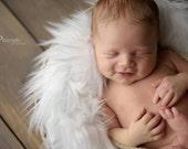 Faux Fur Fabric, Newborn Photo Prop, Fur Photography Backdrop, Faux Fur Newborn Layering Blanket, Photography Prop, Basket Filler, RTS