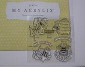 Acrylic Stamp Set - Close to My Heart #B1374 - Bee Happy