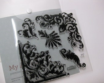 Acrylic Stamp Set - Close to My Heart S1208 - Baroque Borders