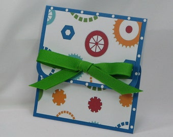 Gears and Parts All Occasion Gift Card Holder