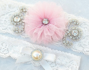 SALE vintage garter , bridal garter, wedding garter, garter , lace garter set