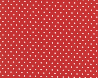 Bread N Butter cotton red fabric by American Jane for Moda fabric 21697 24