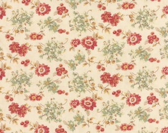 Larkspur cotton fabric by 3 sisters for Moda fabric 4404 11