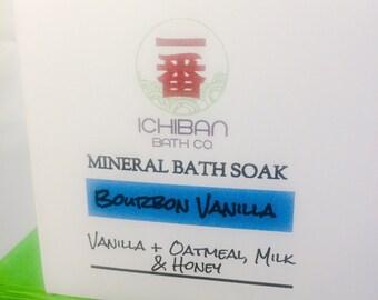 Ichiban Mineral Bath Soak. Therapeutic Epsom Salt with Sea Salt.
