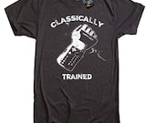 Classically Trained Retro Gamer T Shirt tee - American Apparel Tshirt - S M L XL 2X