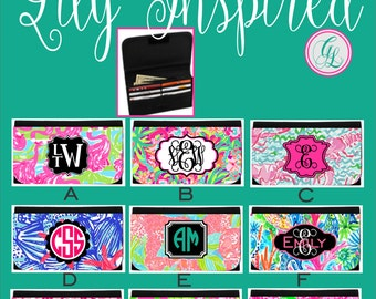 Monogram / Personalized Ladies Wallet