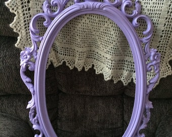 Open frame in  lavender, great nursery wall decor