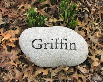 Personalized Pet Memorial Stone, Dog Memorial Stone, Cat Memorial Stone, Pet Grave Marker
