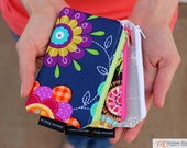 Set of 3 Coin Purses, Zippered Change Pouches, Mix and Match