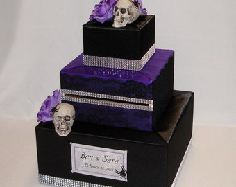 Halloween theme Party -Gothic Weddign Card Box
