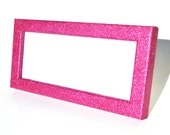 Glitter cosmetology license frame.  Business license frame.  Glitter Frame.  License Frame.