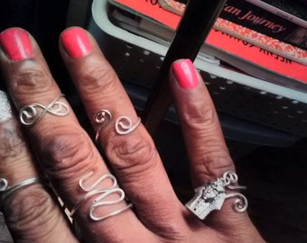 PRGA handcrafted rings