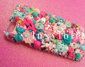 Teal & Pink Sparkle Decoden iPhone 6/6s Phone Case