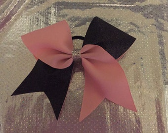 Tick Tock Cheer Bow - Customizable
