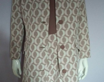 1960's Dress with Matching Jacket.
