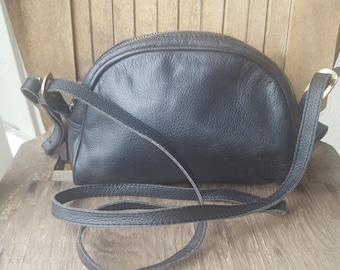 HALVES    ///    Small Leather Hip Purse