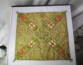 Embroidered Antique Chalice Cover