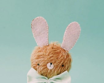 Frank little bunny plush - made to order